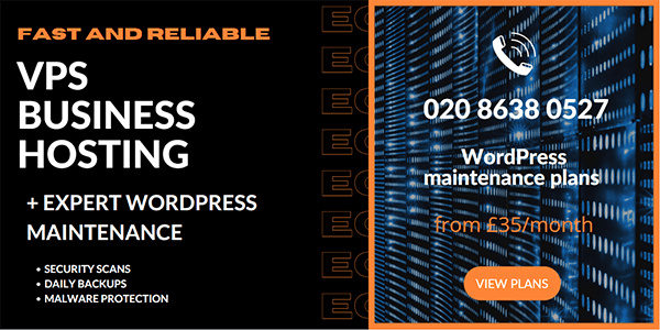 WordPress hosting and maintenance